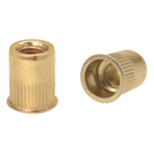 Threaded Inserts - KAK Series - Small Flange Knurled Inserts